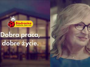 Pracownicy w nowej kampanii Biedronki
