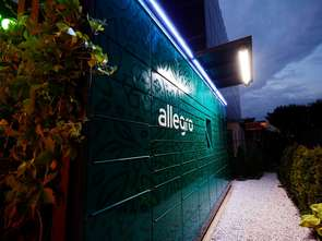 """Allegro """"zasadziło"""" pierwsze ekologiczne automaty paczkowe"""