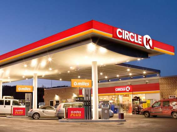 Circle K: wpadka sklepu na stacji benzynowej