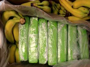 Kokaina w bananach. Nie pierwszy raz