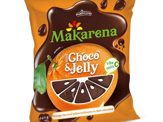 Millano Group. Galaretki Makarena Choco&Jelly
