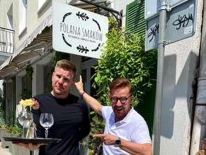 Filip Chajzer będzie kelnerem w restauracji Andrzeja Polana