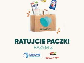 Danone i To Good To Go razem w Krakowie