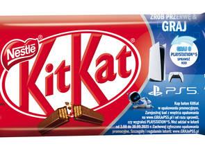 KitKat startuje z loterią - do wygrania PS5