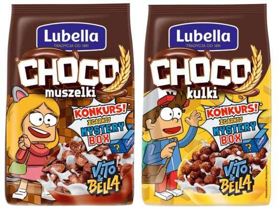 Grupa Maspex. Lubella Choco Game