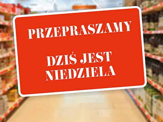 Do Sejmu trafił projekt PiS ws. zakazu handlu w niedzielę!
