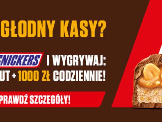 Wygrywaj w nowej loterii od Snickers®