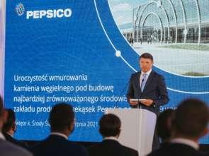 PepsiCo zainwestuje ponad 1 mld zł w nowy zakład