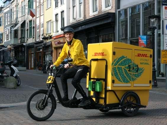 Pierwszy e-rower kurierski we flocie DHL Express