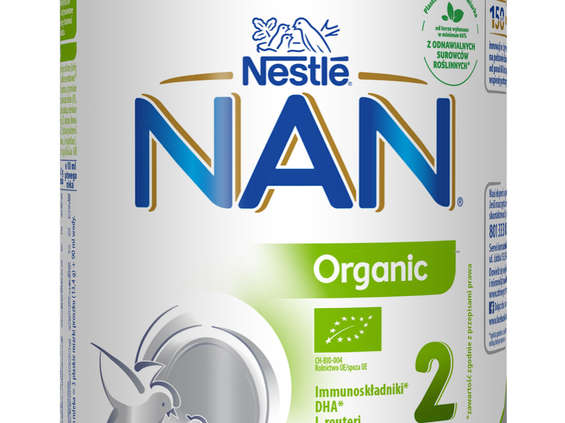 Nestlé Polska. NAN Organic 2