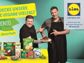 Lidl promuje wegańskie produkty