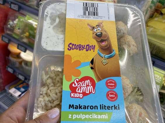 Szamamm Kids - Żabka sprzedaje obiady dla dzieci