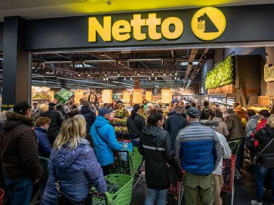 Otwierają się Netto z kasami samoobsługowymi