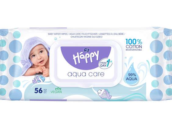 TZMO. Chusteczki Bella Baby Happy Aqua Care