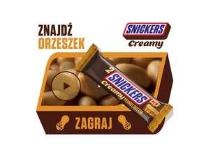 Znajdź orzeszek ze Snickers Creamy!