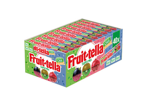 Perfetti Van Melle. Fruittella Super Mix