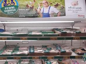 Dobrostan kurczaków ważny dla Auchan