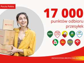 Poczta Polska liczy już 17 tys. punktów odbioru