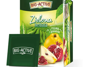 Zielone herbaty Big-Active - metamorfoza!