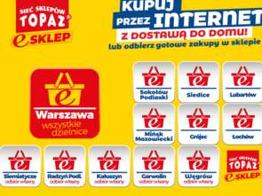 Topaz wszedł z e-zakupami do Warszawy