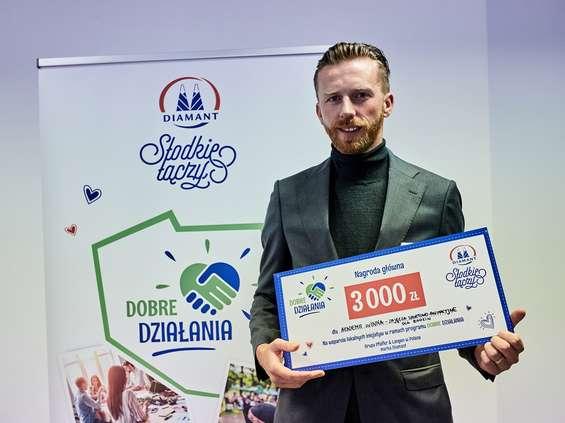 Diamant rozdał nagrody w pierwszej edycji Dobrych Działań