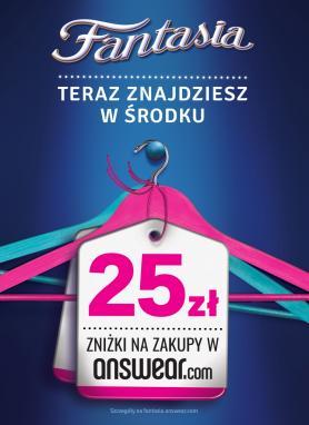 681214b3dee51b Fantasia rozdaje rabaty na zakupy w Answear.com - Promocje - Nowości -  Portal informacyjny Handelextra.pl
